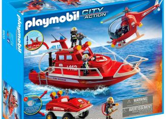 Playmobil - 9503 - Fire Group