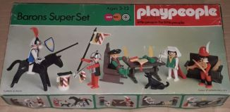 Playmobil - 1719-pla - Barons Super Set