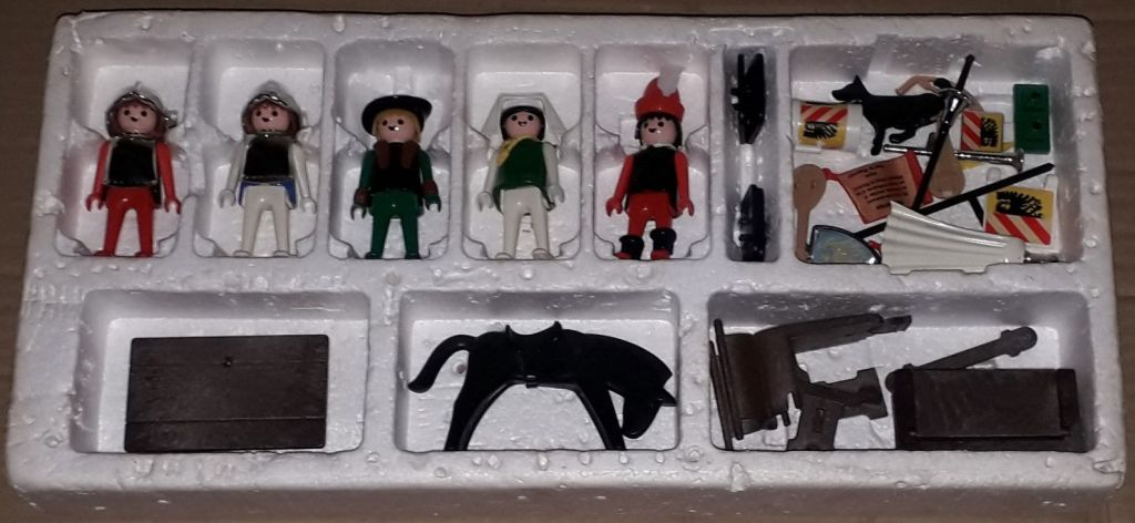 Playmobil 1719-pla - Barons Super Set - Back