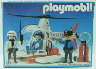 Playmobil - 3144-esp - Police helicopter
