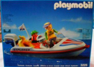 Playmobil - 3225-esp - Speed Boat