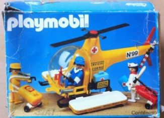 Playmobil - 3247-esp - Rescue helicopter