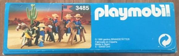 Playmobil 3485v2-esp - U.S. Cavalry - Box