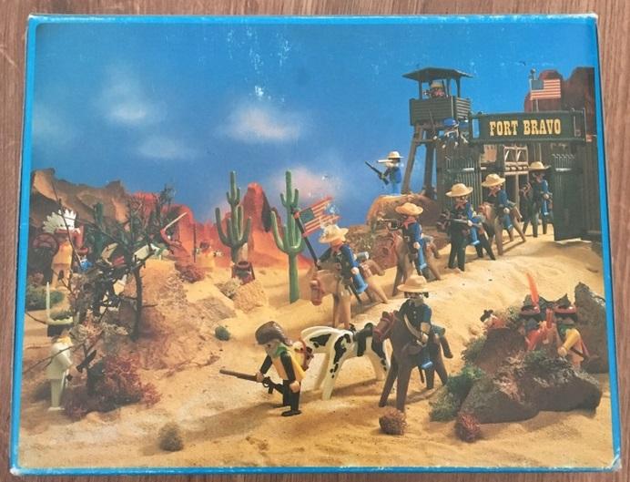 Playmobil 3485v2-esp - U.S. Cavalry - Back