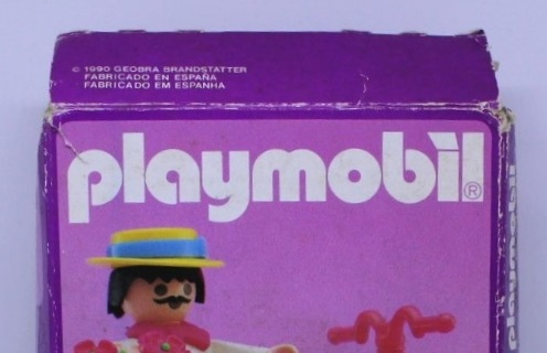 Playmobil 5400-esp - Flower seller - Box