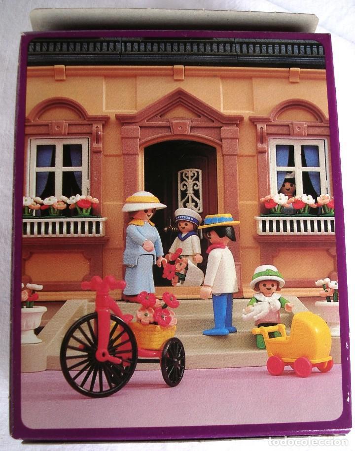 Playmobil 5400-esp - Flower seller - Back
