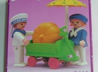Playmobil - 5402-esp - Children With Pumpkin Cart