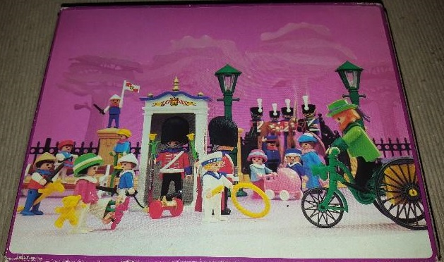 Playmobil 5581-esp - Guards & Children - Back