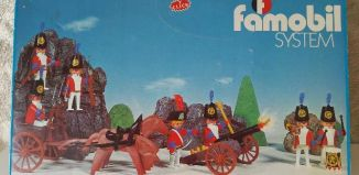 Playmobil - 3402-fam - Redcoats with artillery train