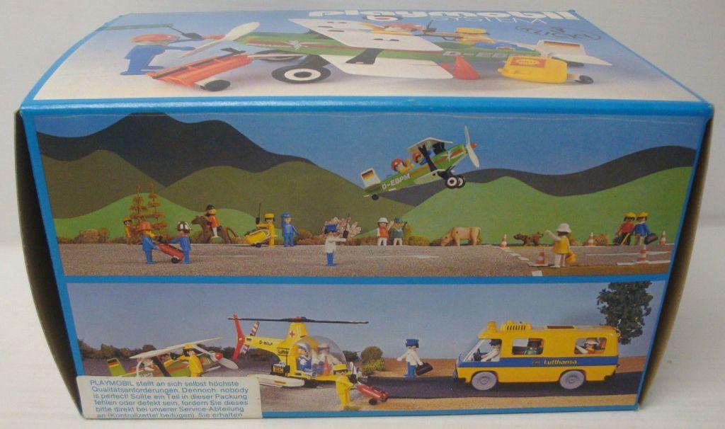 Playmobil 3246-ger - Biplane Pegasus - Box