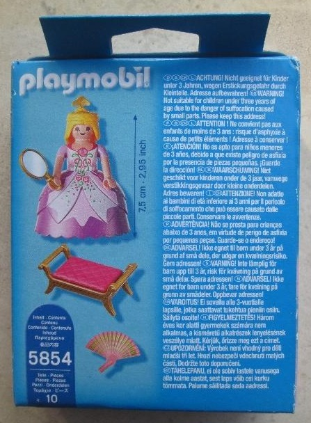 Playmobil 5854-gre - Princess - Back