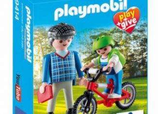 Playmobil - 9414-gre - Grandfather with child