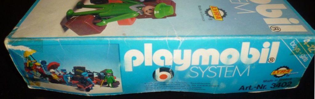 Playmobil 3402-lyr - Travellers - Box