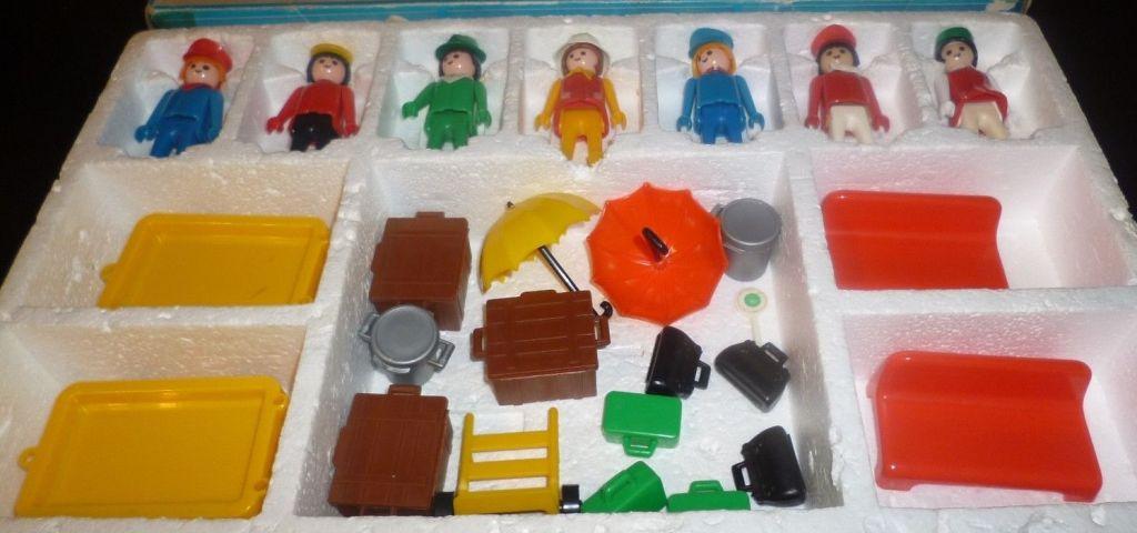 Playmobil 3402-lyr - Travellers - Back