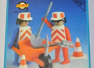 Playmobil - 3L86-lyr - 2 road workers