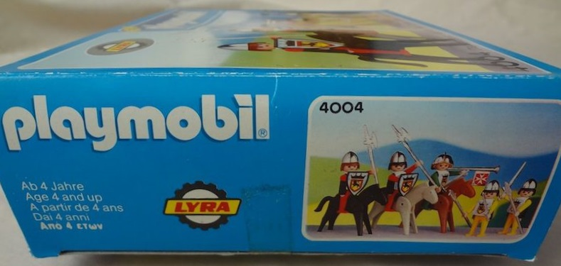 Playmobil 4004-lyr - Knights set - Box