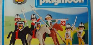 Playmobil - 4004-lyr - Knights set