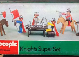 Playmobil - 1710-pla - Knights SuperSet