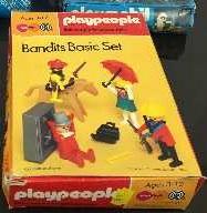 Playmobil - 1731/1-pla - Bandits Basic Set