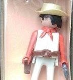 Playmobil - 1734/1v4-pla - White cowboy