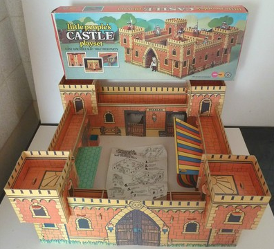 Playmobil 2505-pla - Little People's Castle Playset - Back