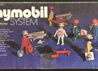Playmobil - 015-sch - Construction Worker Deluxe Set