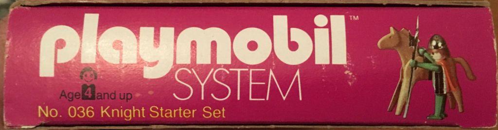 Playmobil 036-sch - Knight Starter Set - Box