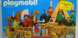 Playmobil - 1103v1-sch - Indian Special Deluxe Set