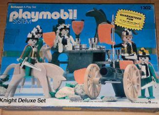 Playmobil - 1302v1-sch - Knight Deluxe Set