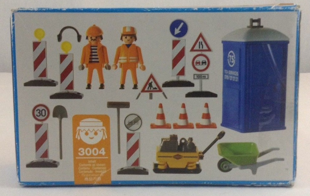 Playmobil 3004-usa - Construction Workers - Box