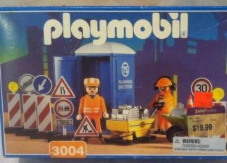 Playmobil - 3004-usa - Construction Workers