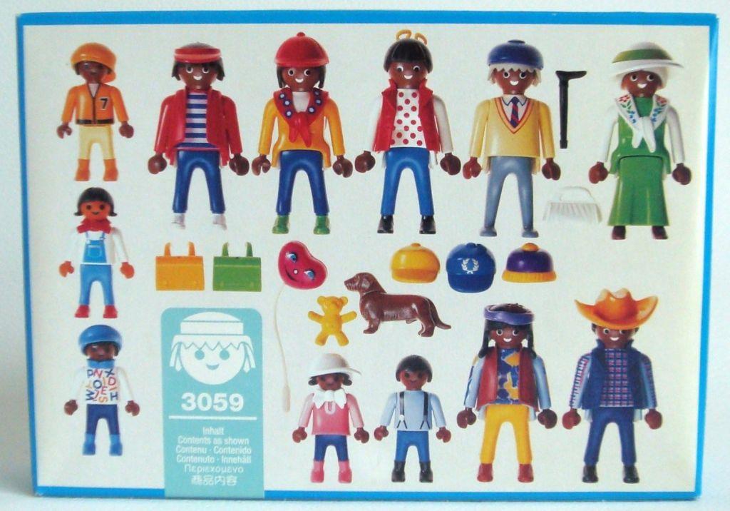 Playmobil 3059 - Multicultural Figure Assortment - Box