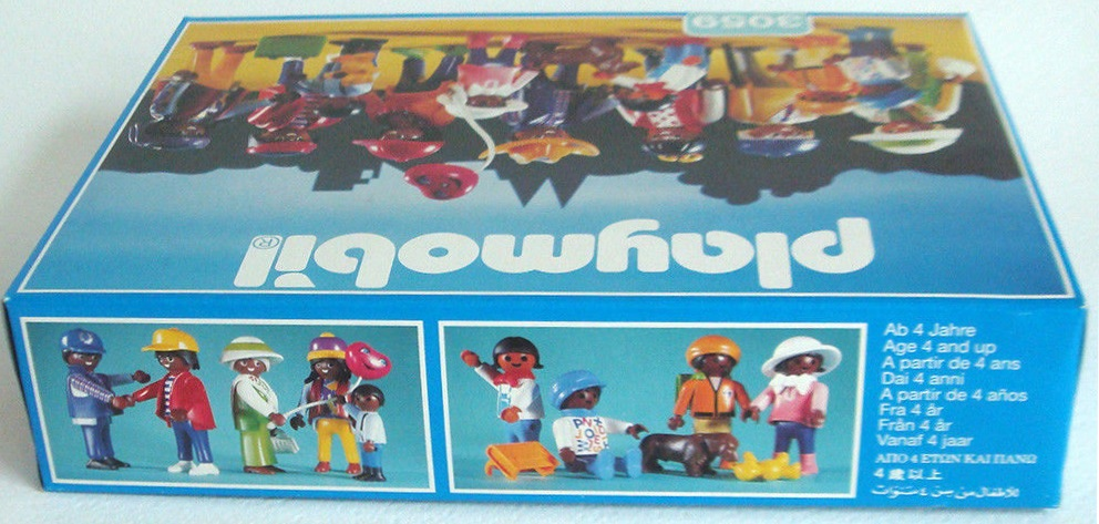 Playmobil 3059 - Multicultural Figure Assortment - Back