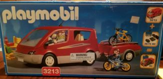 Playmobil - 3213-usa - Family Van