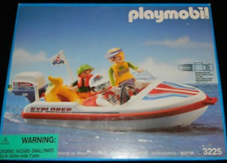 Playmobil - 3225-usa - Speed Boat