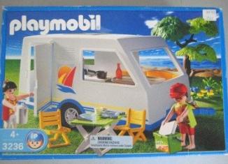 Playmobil - 3236-usa - Parents / Caravane