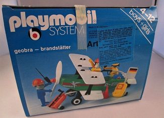 Playmobil - 3246v2-usa - Biplane Pegasus