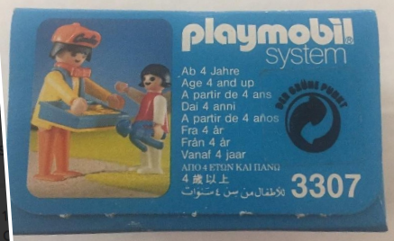 Playmobil 3307-usa - Candy Man - Box