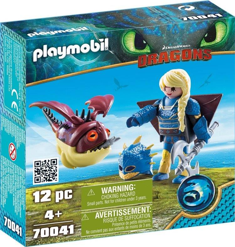 Playmobil 70041 - Astrid con dragón - Box