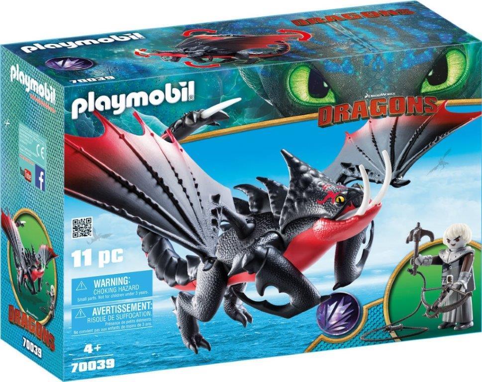 Playmobil 70039 - Villano y dragón - Box