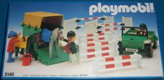 Playmobil - 3140v3 - Jeep & van à chevaux