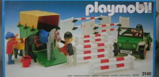 Playmobil - 3140v4 - Jeep & van à chevaux