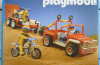Playmobil - 3143v2 - Jeep & motos tout-terrain