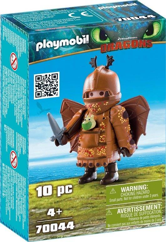 Playmobil 70044 - Fishlegs with Flight Suit - Box