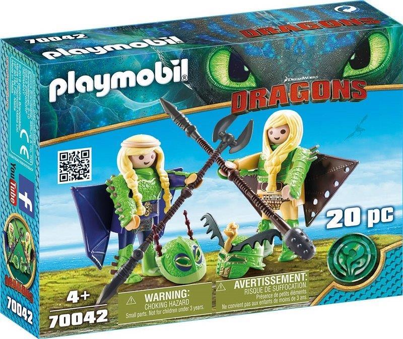 Playmobil 70042 - Chusco y Brusca en traje de vuelo - Box