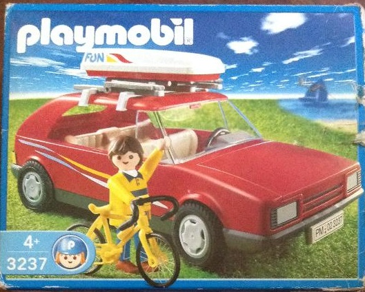 Playmobil 3237s2 - Red Family Car - Box