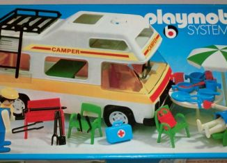 Playmobil - 3258v2 - Family camper