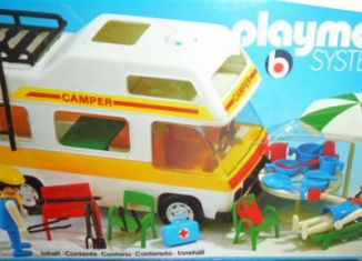 Playmobil - 3258v3 - Family camper