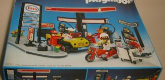 Playmobil - 3434v1 - Esso Gas Station