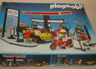 Playmobil - 3434v1 - Station service Esso